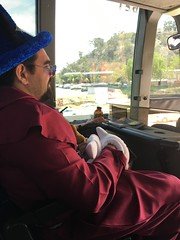 Wizard Mickey on the Bus - 7-21-2018 (kimstrezz) Tags: 2018 mickeymouse fantasia cosplay wizard costume sdcc sdcc2018 comicon comicon2018 sandiego