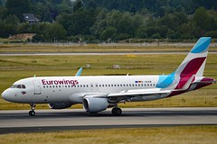 Eurowings D-AEWW Airbus A320-214 Sharklets cn/7615 @ EDDL / DUS 16-06-2017 (Nabil Molinari Photography) Tags: eurowings daeww airbus a320214 sharklets cn7615 eddl dus 16062017