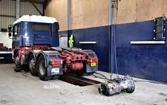 DSC_0040 (richellis1978) Tags: m edwards transport shrewsbury truck lorry haulage erf ec w203wtu gearbox removal