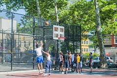 1358_0268FL (davidben33) Tags: brooklyn ny crown height summer 2018 park sport basketball people children 718 plaj joi trees bushes sporting field