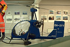 OH-XYY  Kokkola Ko-04 Super Upstart [01] (Suomen Ilmailumuseo) Helsinki-Vantaa~OH 18/05/2003 (raybarber2) Tags: 01 airportdata cn01 efhk finnishcivil flickr helicopter ohxyy planebase preserved
