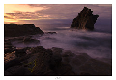 Black Devil (Max Angelsburger) Tags: madeira island volcanic atlantic ocean panoramic summer seascape windy great weather evening sunset cliffs tides elements wind clouds colorful sun rock black devil airport