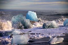 Jokulsarlon Glacier Diamond Beach 2 (Debbie Sabadash) Tags: iceland jokulsarlon glacier diamond beach
