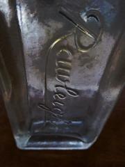 Half Full of Light (Steve Taylor (Photography)) Tags: digitalart lowkey glass newzealand nz southisland canterbury christchurch northnewbrighton antique bottle old rawleighs