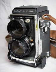 My New Film Camera (CNygren) Tags: mamiyac220 tlr film camera