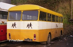 Bus Eireann SS740 (740ZI). (Fred Dean Jnr) Tags: capwelldepotcork buseireanncapwelldepot cork buseireann bedford vas ss740 740zi capwell november1997 vanhool mcardle msl