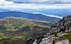 Highlands 5 (orientalizing) Tags: desktop featured highlands landscape loch lochrannoch mountain scotland schiehallion