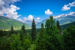 Mestia in the Svaneti region of Georgia (CamelKW) Tags: georgia june2017 mestia svanetiregion