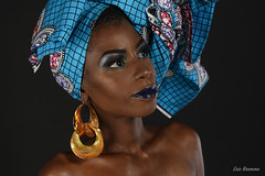 Shooting Boudja - Modèle Asita (Eric Bromme) Tags: boudja shooting studio modèle femme woman portrait maquillage makeup mode fashion retratos mulher africanwoman femmeafricaine modeethnique 6millionpeople