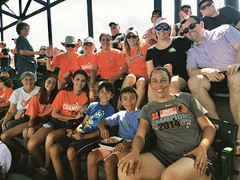 fun with family at the Orioles game (karma (Karen)) Tags: baltimore maryland oriolepark camdenyards family iphone cmwd