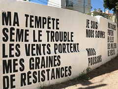 Josèfa Ntjam & Sean Hart (Grained'Acacia) Tags: marseille juxtapoz couvent emancipation arturbain streetart