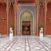 La grande entrée de l'ancien palais Al Gezirah (Hôtel Marriott, Le Caire, Égypte)