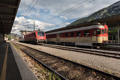 generations (dadiolli) Tags: asling jesenice slowenien si slovenskeželeznice slovenianrailways slovenia 813 schienenbus triebwagen wocheinerbahn bohinjrailway wochei