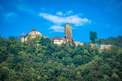 More amazing castles in Austria along the Eurovelo6 route .