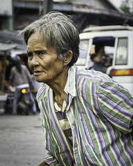 Shopper (Beegee49) Tags: street elderly lady shopping walking bacolod city philippines