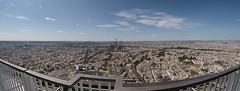 Paris Panorama (muman71) Tags: paris fisheye samyang 8mm fuji 2018 tourmontparnasse