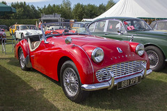 Triumph (Peter Storr) Tags: croft motor circuit racing car cars sports race track nostalgia weekend 2018 triumph red soft drop top open