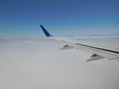 above the clouds (kenjet) Tags: aerial inflight windowseat fromthewindow wing winglet embraer e175 compass compassairlines dl dal delta deltaairlines ejet plane jet aviation flugzeug airline airliner weather clouds cloud