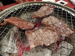 Wagyu Beef BBQ @Seitaien, Daimon, Tokyo (Phreddie) Tags: yakiniku wagyubeef meatclub yummy delicious foos japanesefood kroean party happy friends tokyo japan restaurant monday reunion