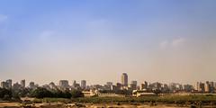 Cairo skyline, Egypt (pas le matin) Tags: city skyline ville cityscape landscape paysage capital capitale cairo lecaire egypt égypte afrique africa world travel voyage sky ciel blue bleu canon 7d canon7d canoneos7d eos7d