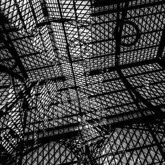 Geometric photographic study with rooflight (Justin Barrie Kelly) Tags: justinbarriekelly justinkelly justinbkelly non objective art jbkelly lightanddark constructivist shadow photography abstractart 6x6 blackandwhite abstract asymmetric justinkellyartist geometric lightandshadow sculptural geometrical constructivism blackandwhitephotography photograph geometricshapes rooflight lattice fenestration geometry circle