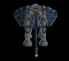 elephant_mech 36sr(4) (demitriusgaouette9991) Tags: lego military army ldd armored powerful deadly mecha droid robot animal walker