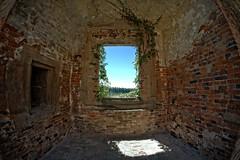 A Room with a View - Lipnice nad Sázavou, Czech - Castle (petrwag) Tags: sonya6500 samyang8mm fisheye czech clickcamera