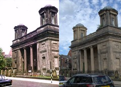 St Andrew's Church, Rodney Street, 1970s and 2018 (Keithjones84) Tags: liverpool oldliverpool thenandnow rephotography