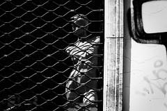 Aphrodite 337.365 (ewitsoe) Tags: canoneos6dii city street warszawa erikwitsoe poland summer urban warsaw window woman dummy fake blackandwhite mannequin cage monochrome mono