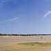 Panorama of St Aubin's Bay in Jersey.