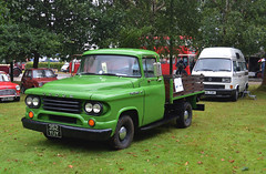 352 YUY: 1958 Dodge D100 stake-side truck (chucklebuster) Tags: 352yuy dodge d100 truck