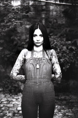 film (La fille renne) Tags: film analog 35mm lafillerenne canonae1program 50mmf18 washi washis portrait céline woman