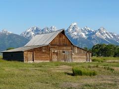 Moultan Barn (jb10okie) Tags: grandtetonnationalpark grandteton nps wyoming usa america mountains summer 2017 trip vacation
