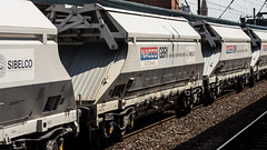 IIA 8170 0659 040-7 (JOHN BRACE) Tags: iia 8170 0659 0407 2017 built covered hopper seen part 0830 middleton towers monk bretton sand train passing doncaster 1451 running time
