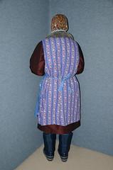 Slave Maid (Warm Clothes Fetish) Tags: maid salve sweat torture hijab niqab apron coat fur boots winter warm hot girl