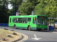 Nottingham City 204 QMC (Guy Arab UF) Tags: nottingham city transport 204 yn04anf scania n94ub east lancs omnitown bus qmc hospital municipal buses