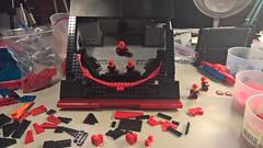 Omega Update WIP 19a (DJ Quest) Tags: lego spyrius space ship moc update wip bridge rework