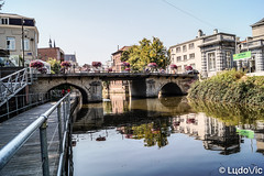 Reflet à Malines (Lцdо\/іс) Tags: mechelen malines belgique belgium belgie beauty reflexion reflection reflet eau dyle summer august août 2018 lцdоіс city citytrip bridge pont old discover explore street