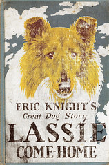 Lassie-Come-Home-by-Eric-Knight (Count_Strad) Tags: books vintage old drama suspense jokes fantasy horror novel