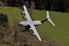 ATLAS (Dafydd RJ Phillips) Tags: zm416 atlas airbus a400m a400 loop mach low level raf brize norton royal air force