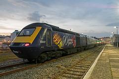 43027 at Paignton (Hoovering_crompton) Tags: 43027 90 glorious years hst high speed train mtu gwr fgw great western railway class 43 diesel nikon d3300