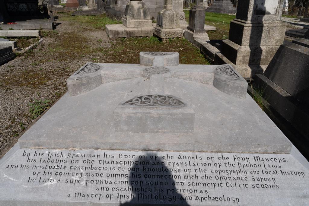 JOHN O'DONOVAN AN IRISH SCHOLAR [BURIED IN GLASNEVIN CEMETERY DECEMBER 13 1861]-138855