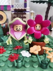 Simply LOVE 🌹💖🌷 (valeolligio) Tags: sun sunflowers fruits market simplylove simply love friends city flowers collectableminifigures 2018 suited monsters lcm minifigures collectable lego