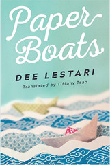 Paper Boats, by Dee Lestari (CatMacBride) Tags: bookcover book cover