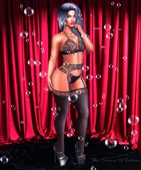 You're Killing Me When You Wear That Black Lingerie (Cherry Inventor) Tags: vtech redlightdistrict rld catwa letre maitreya truth moda pocketgacha foxcity limit8 anc secondlife blog fashion pose backdrop 3d virtual portrait