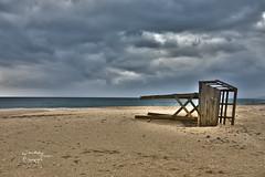 Beautiful Wind (Quirós Fotografía) Tags: playa beach zahara cadiz levante viento mar arena hdr