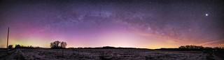 Milky Way meets Northern Lights