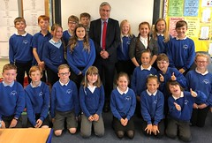 Visiting Gullane primary school