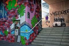 #HELSINKI2018 (deff0) Tags: street graffiti color stairs pasila böle helsinki helsingfors suomi finland fuji x100t x100 xtrans fujifilm fujinon 23mm