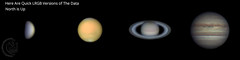 4 Planets [2018.07.19] LRGB (1CM69) Tags: celestron celestroncpc925 cpc925 zwoasi120mms venus mars saturn jupiter exmoor devon england northmolton kjevans 1cm69